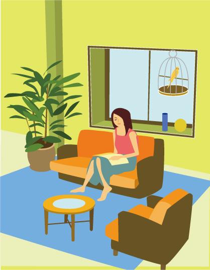 ひとり暮らしのお部屋