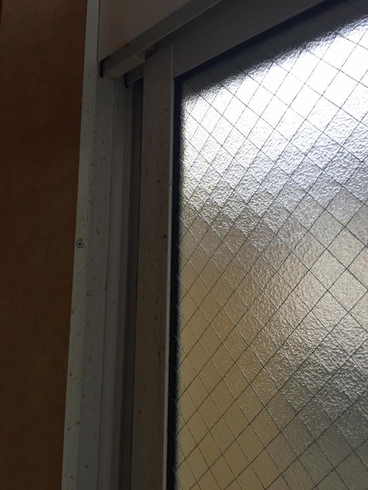 マンスリーマンション 窓の汚れ