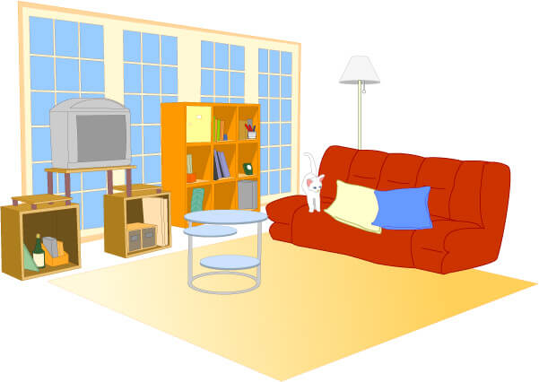 一人暮らしの部屋とペット
